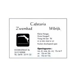 Cafetaria Zwembad Wilrijk